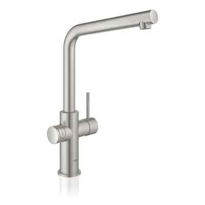 GROHE Red II Duo L-tud supersteel Grohe Red haner