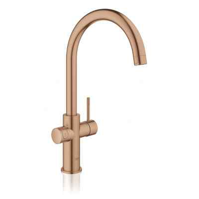 GROHE RED II C-tud børstet warm sunset Grohe Red haner