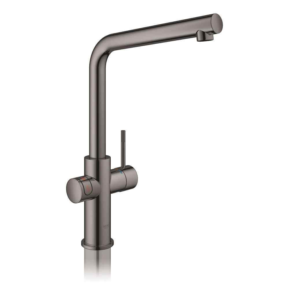 GROHE Red II Duo L-tud poleret hard graphite Grohe Red haner