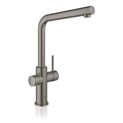 GROHE Red II Duo L-tud børstet hard graphite Grohe Red haner
