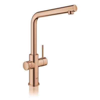GROHE Red II Duo L-tud poleret warm sunset Grohe Red haner
