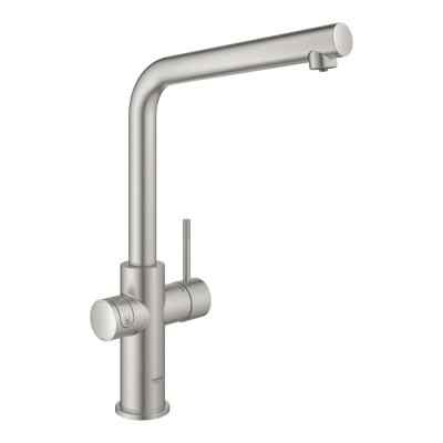 GROHE Blue L-tud Supersteel Grohe Blue haner