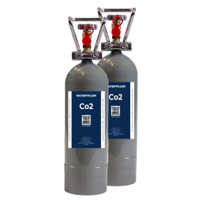 2 kg Co2 flasker (2 pak) Co2 flasker