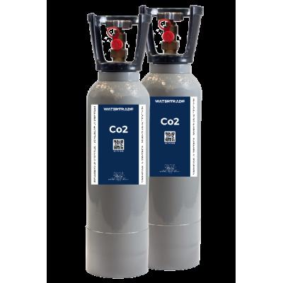 3.75 kg Co2 flaske (2 pak) Co2 flasker