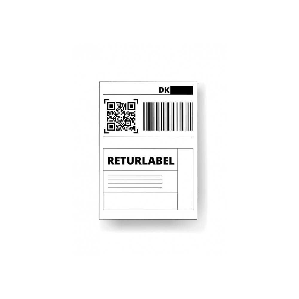Returlabel forudbetalt Reservedele