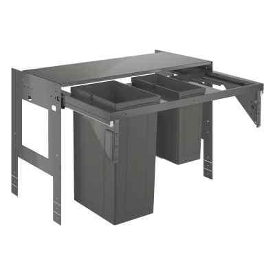 Affaldsspand 90cm, 29+11L Affaldssortering
