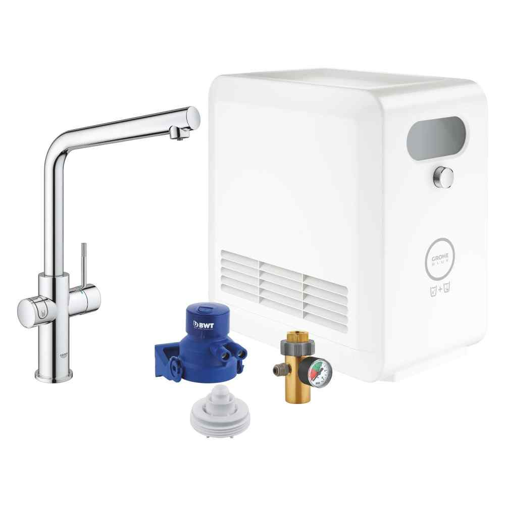 GROHE Blue Professional L-tud kit Grohe Blue Pro