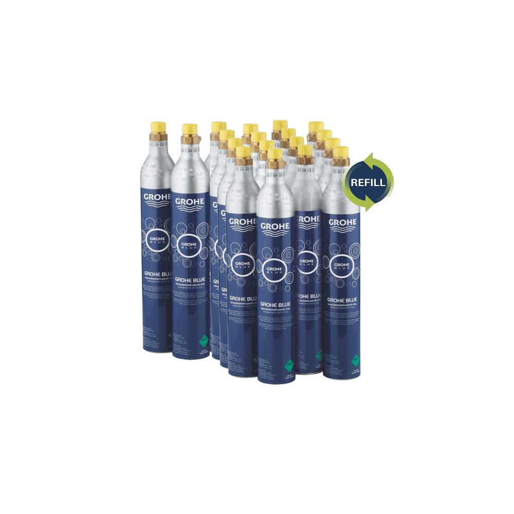 Grohe Blue 425 g Co2 ombytning - kæmpe kasse Co2 refill